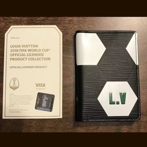 LOUIS VUITTON LIMITED EDITION WORLD CUP CARD HOLDE